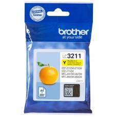 CARTUCHO BROTHER LC3211Y 200PG AMARILLO