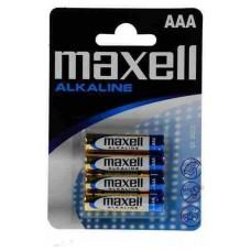 PILA ALCALINA MAXELL BL.4 LR03-B4 AAA