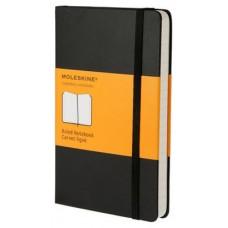 MOLESKINE NOTEBOOK POCKET RULED BLACK HARD COVER