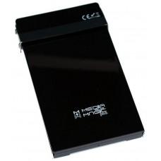 """CAJA EXTERNA HD 2,5"""" SATA EN ACERO  MMP-25606 (Espera 3 dias)"""