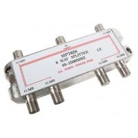 DISTRIBUIDOR STANDARD DE 6 VIAS (5-2400Mhz) - PASO