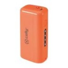 CELLY POWER BANK 2,2 A FLUO NARANJA MICRO USB (Espera 3 dias)