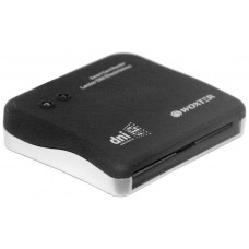 Woxter PE26-003 Interior USB 2.0 Negro lector de tarjeta inteligente