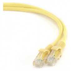 Gembird PP12-1M/Y 1m Cat5e U/UTP (UTP) Amarillo cable de red