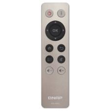 QNAP RM-IR002 Botones Gris mando a distancia