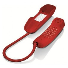 Gigaset DA210 Teléfono analógico Rojo
