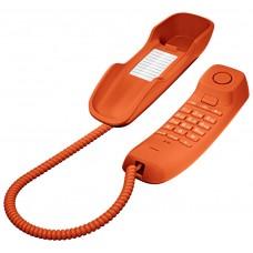 Gigaset DA210 Teléfono analógico Naranja