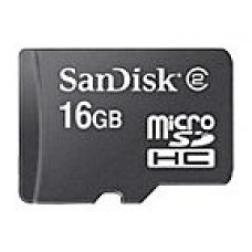 Sandisk 16GB microSDHC 16GB MicroSD memoria flash