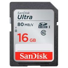 Memoria SD Sandisk 16 GB SDSDUNC-016G-GN6IN clase 10 (Espera 4 dias)