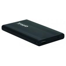 CAJA EXTERNA TOOQ 25p 95 MM SATA USB 2.0 NEGRA TOOQ