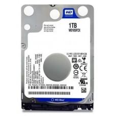 """HD W. DIGITAL 1TB SATA 2.5"""" WD10SPZX 5400 128MB BLUE"""