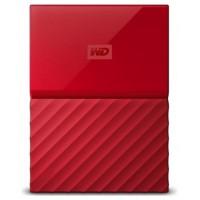 HD EXT 2.5  4TB WESTERN DIGITAL MY PASSPORT USB3 RED